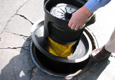 Manhole Odor Eliminator Demo Filter